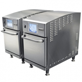 TWIN COMMERCIAL COUNTERTOP COMBINATION CONVECTION / MICROWAVE OVENS