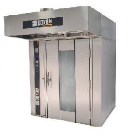 GAS DOUBLE ROTATING RACK OVEN 275,000 BTU